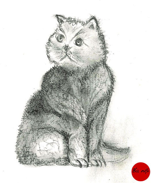 chat-dessin