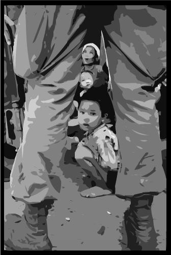 henri-huet-guerre-vietnam-enfant