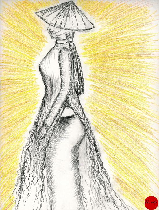 femme-vietnam-ao-dai-images-dessin-asia