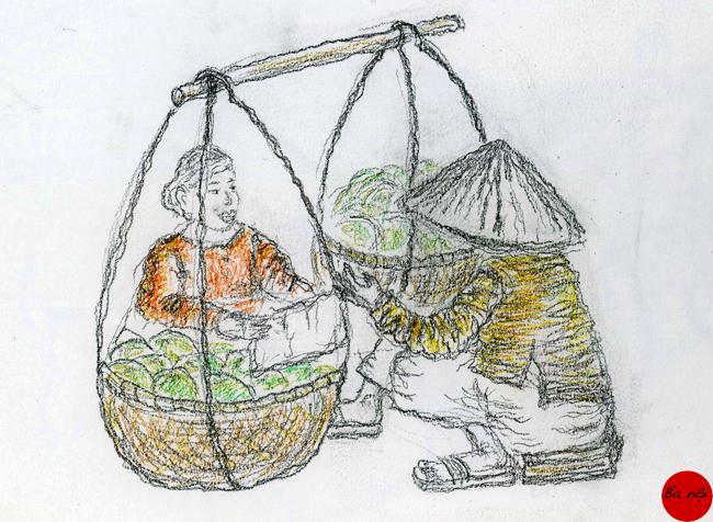 marché-vietnam-vendeuse-legumes